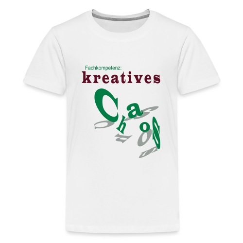 kreatives Chaos - Teenager Premium T-Shirt