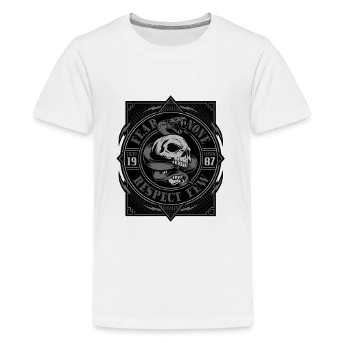 Fear None - T-shirt Premium Ado