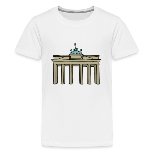 Brama Brandenburska BERLIN c - Koszulka młodzieżowa Premium