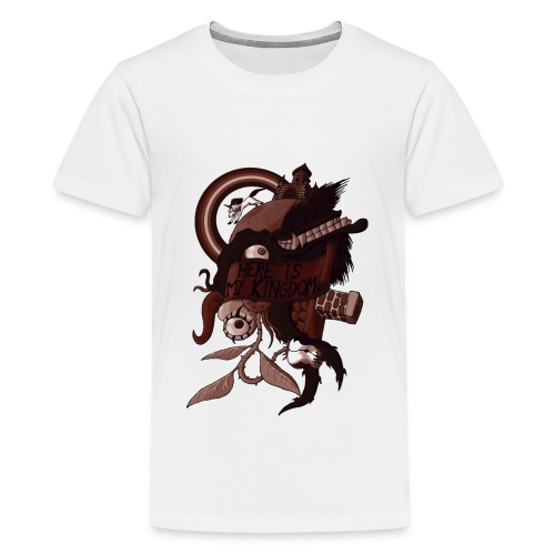 Here is my Kingdom(Sepia) - Männer - Teenager Premium T-Shirt