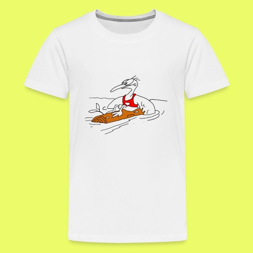 PaddelVogel - Teenager Premium T-Shirt