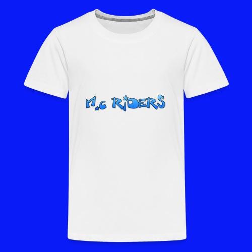 Water Bottle Riders - Teenage Premium T-Shirt