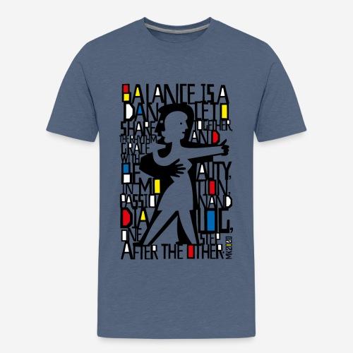 Tanzmusik Tänzer - Teenager Premium T-Shirt