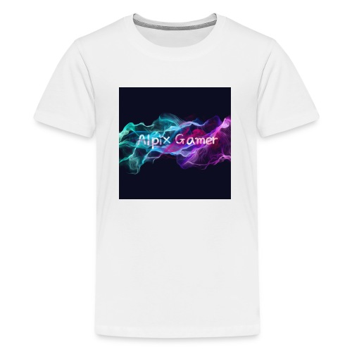 Neu Alpix Gamer Emblem - Teenager Premium T-Shirt