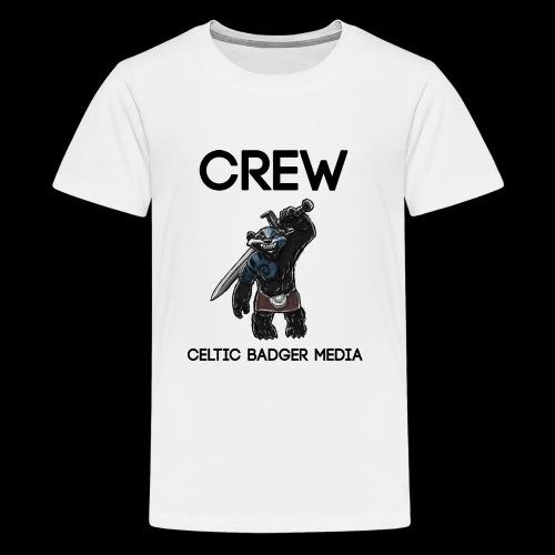 CBM Staff Back - Teenage Premium T-Shirt