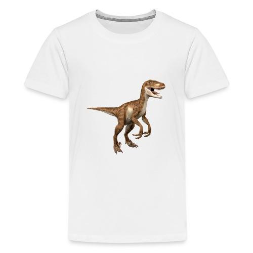 Raptor Dinosaur - Teenage Premium T-Shirt