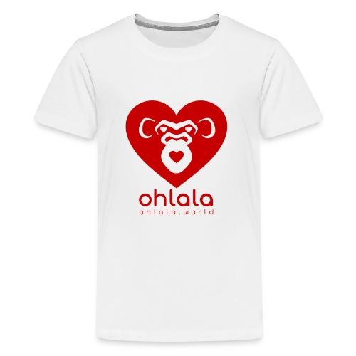 Ohlala LOVE - Teenager Premium T-Shirt