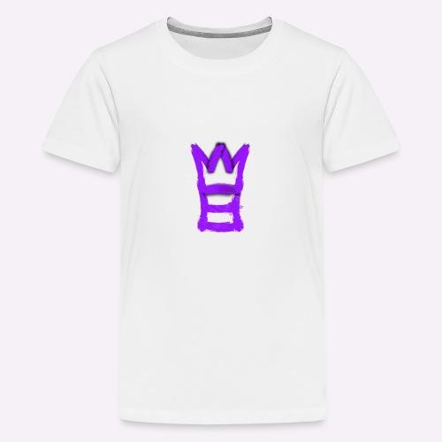 M8 mit Krone - Teenager Premium T-Shirt