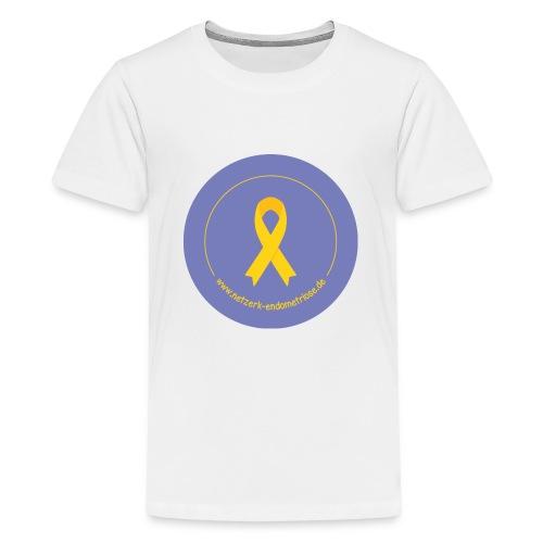 LOGO EndometrioseNetzwerk - Teenager Premium T-Shirt