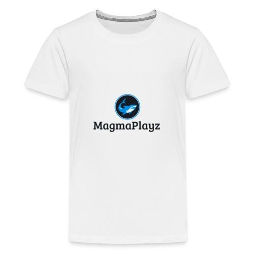 MagmaPlayz shark - Teenager premium T-shirt