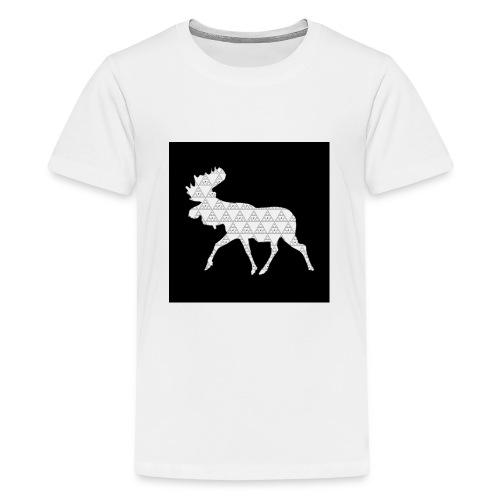 Moose Walk - Teenage Premium T-Shirt