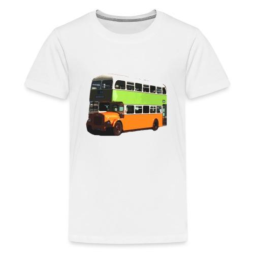 Glasgow Corporation Bus - Teenage Premium T-Shirt