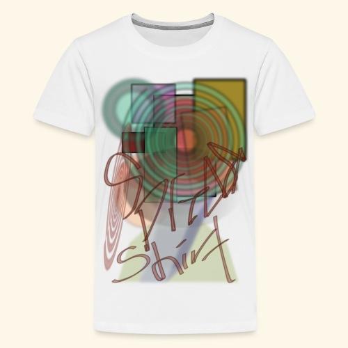 spreadvintage - Premium-T-shirt tonåring