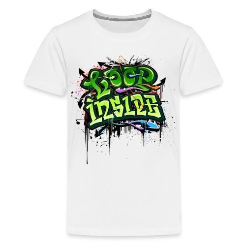 Loop INSIDE 😎 - Teenager Premium T-Shirt