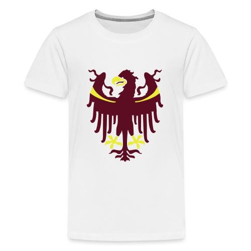 Wappen des Landes Südtirol - Teenager Premium T-Shirt