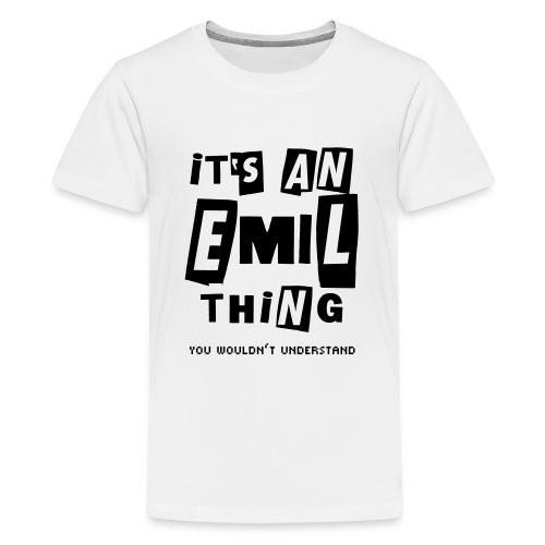 xmas_emil - Teenager Premium T-Shirt