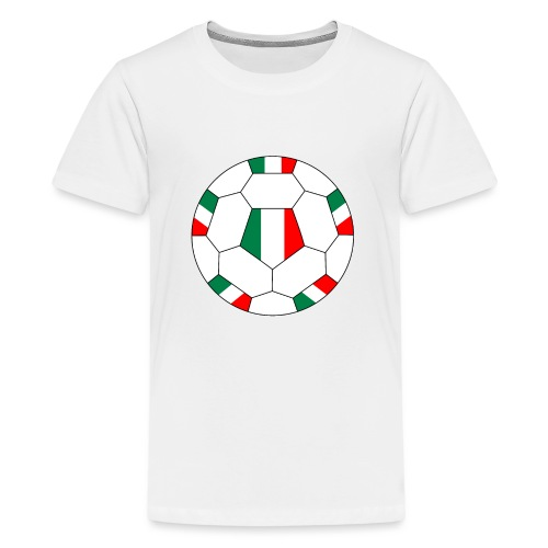 Italien Fußball - Teenager Premium T-Shirt