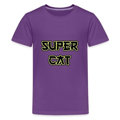 Super Cat - Teenager Premium T-Shirt