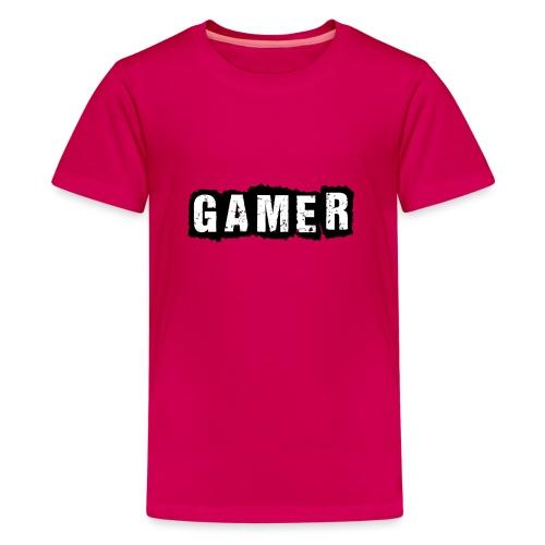 D 40 Gamer - Teenager Premium T-Shirt