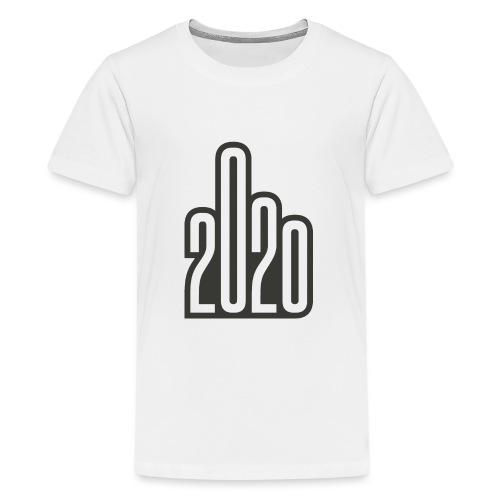 2020 - Mittelfinger Virus - Teenager Premium T-Shirt
