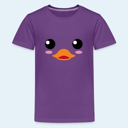 Pato bebé (Cachorros) - Camiseta premium adolescente
