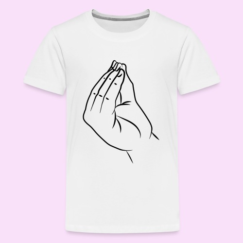 Italienische Hand - molto bene - Teenager Premium T-Shirt