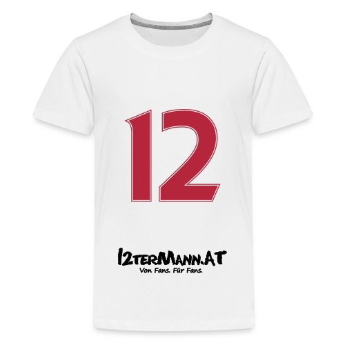 12termann mitfans - Teenager Premium T-Shirt