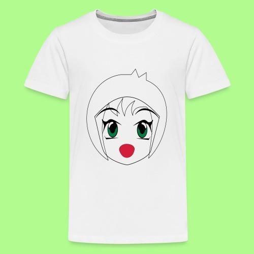 Anime girl T-Shirt - Teenage Premium T-Shirt