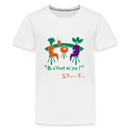 on stient au jus - T-shirt Premium Ado