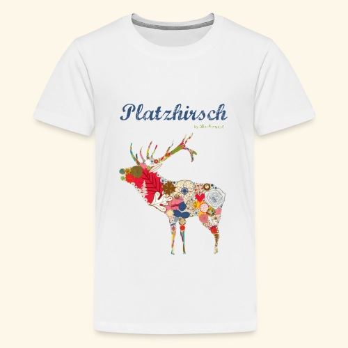 Bockwurst Sportswear - Platz Hirsch - Teenager Premium T-Shirt