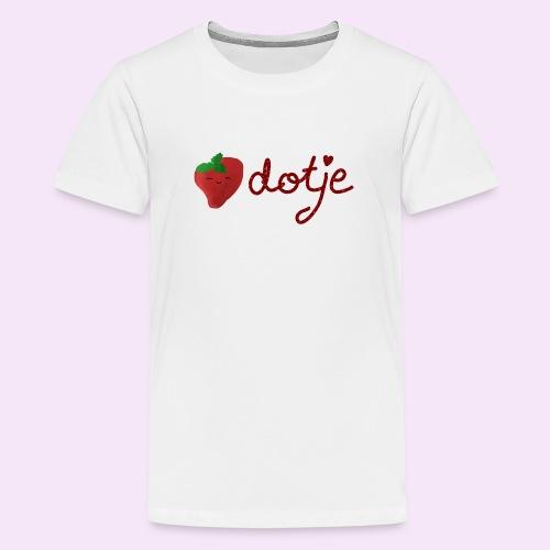Baby aardbei Dotje - cute - Teenager Premium T-shirt