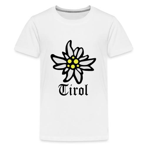 Tirol Edelweiss - Teenager Premium T-Shirt