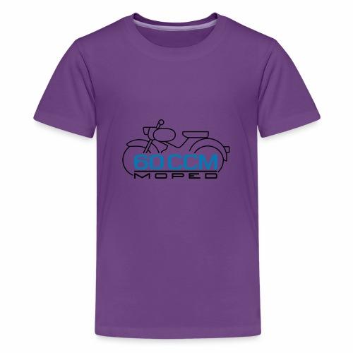 Moped sparrow 60 cc emblem - Teenage Premium T-Shirt