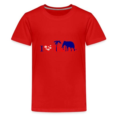 I love Thailand - Teenage Premium T-Shirt