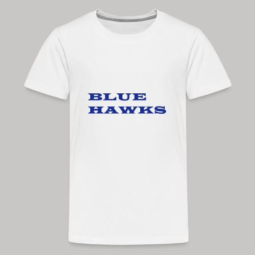 BlueHawks WideLatin twoli - Teenager Premium T-Shirt