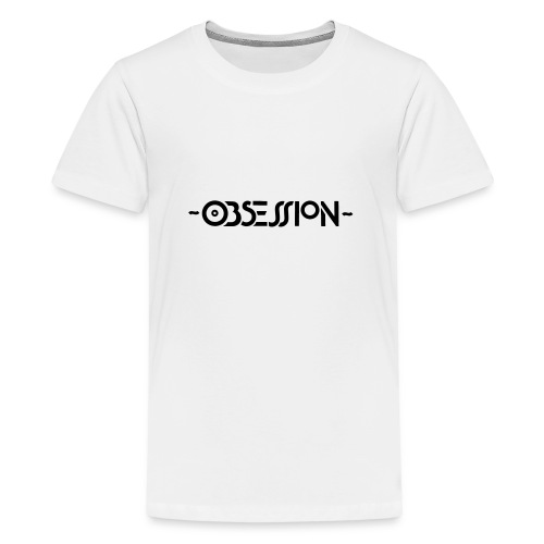 Obsession Logo - Teenage Premium T-Shirt