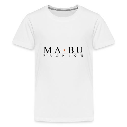 mabu-fashion_schwarz-gelb - Teenager Premium T-Shirt