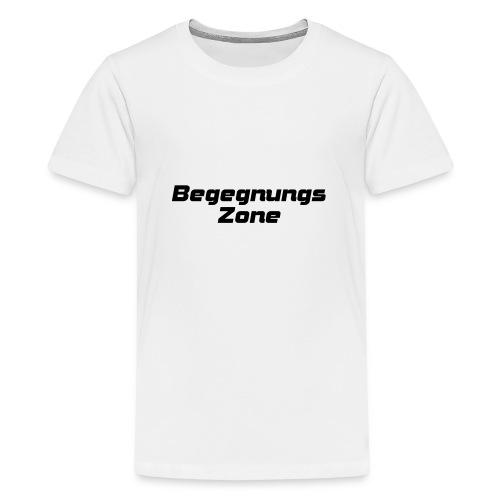 Begegnungszone - Teenager Premium T-Shirt