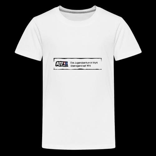 schild Kopie jpg - Teenager Premium T-Shirt