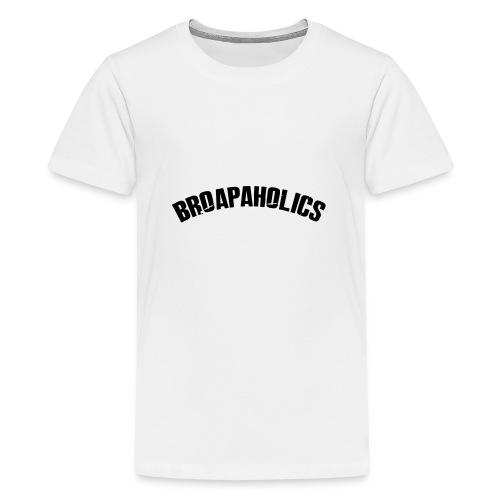Hoodie Text - Teenage Premium T-Shirt