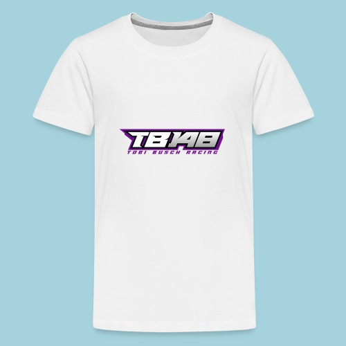 Tob Logo Lila - Teenager Premium T-Shirt