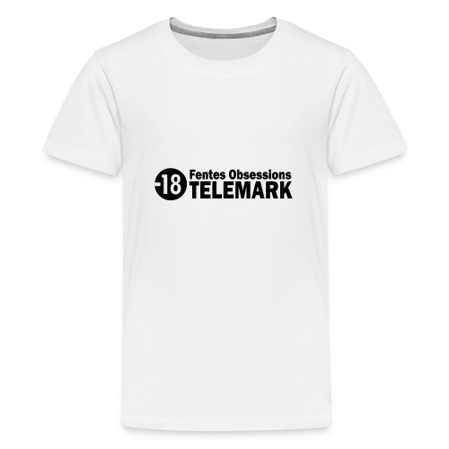 telemark fentes obsessions18 - T-shirt Premium Ado