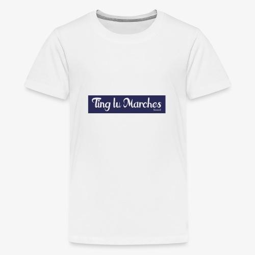 Ting lu Marches - Maglietta Premium per ragazzi