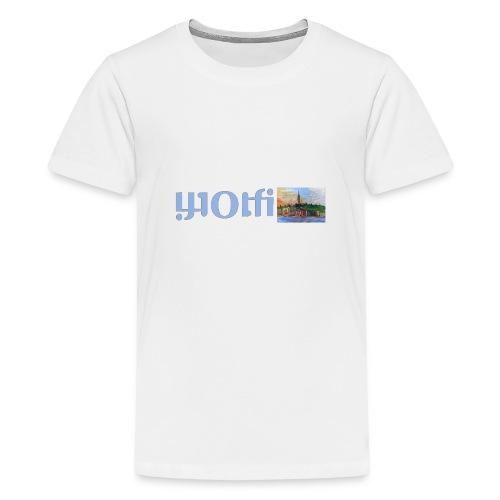 WOLFI5 - Teenager Premium T-Shirt