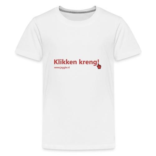 Klikken kreng - Teenager Premium T-shirt
