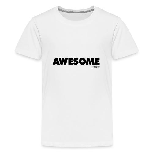 Awesome T-shirt - Teenage Premium T-Shirt