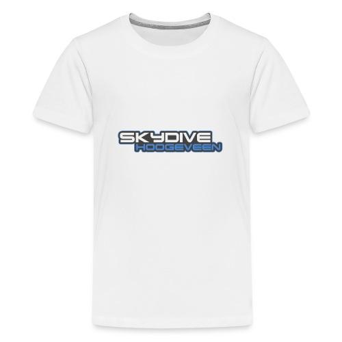Logo Skydive Hoogeveen png - Teenager Premium T-shirt