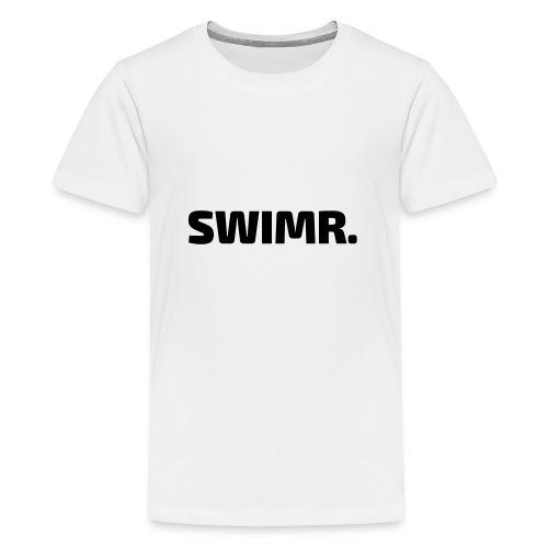 swimr-logo - Teenager Premium T-shirt