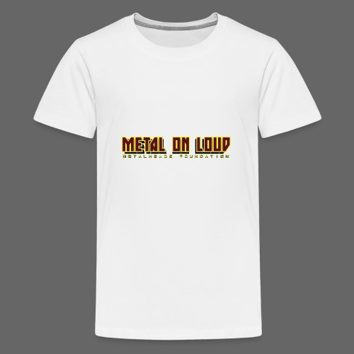 MOL Letter Logo Randy - Teenage Premium T-Shirt