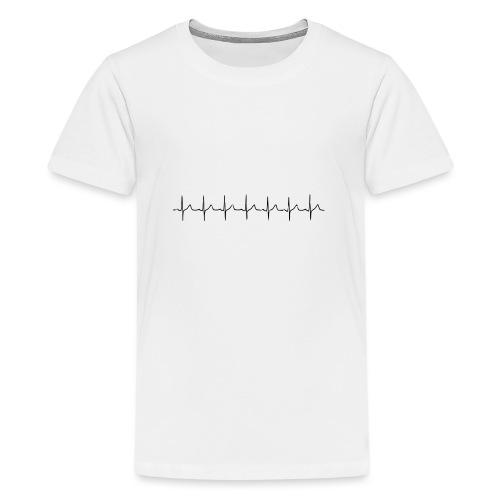 ekg - Teinien premium t-paita